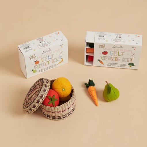 Olli Ella Felt Veggie and Fruit Sets
