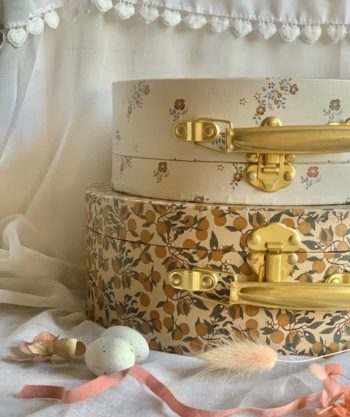 Orangery Beige Storage Set Little French Heart