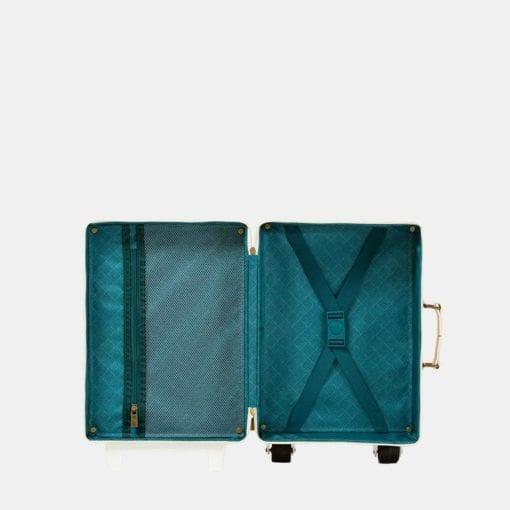 Olli Ella See-Ya Suitcase Blush