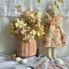 Bunnette & Basket French Summer Set Little French Heart