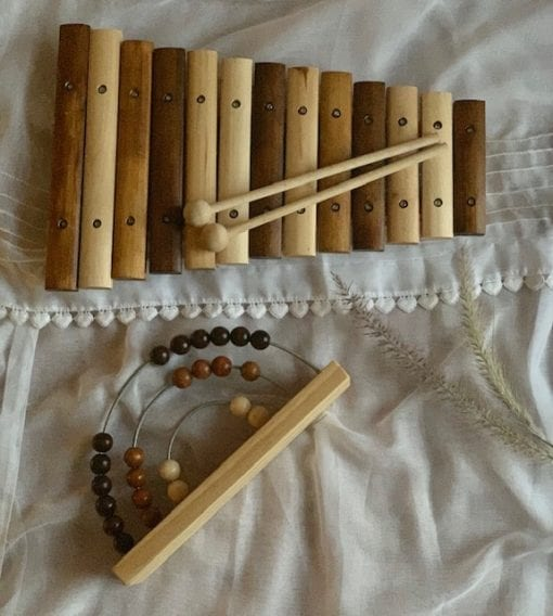 Xylophone Natural Little French Heart