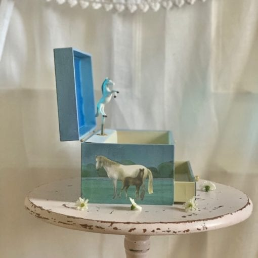 Music Box Horse Camargue