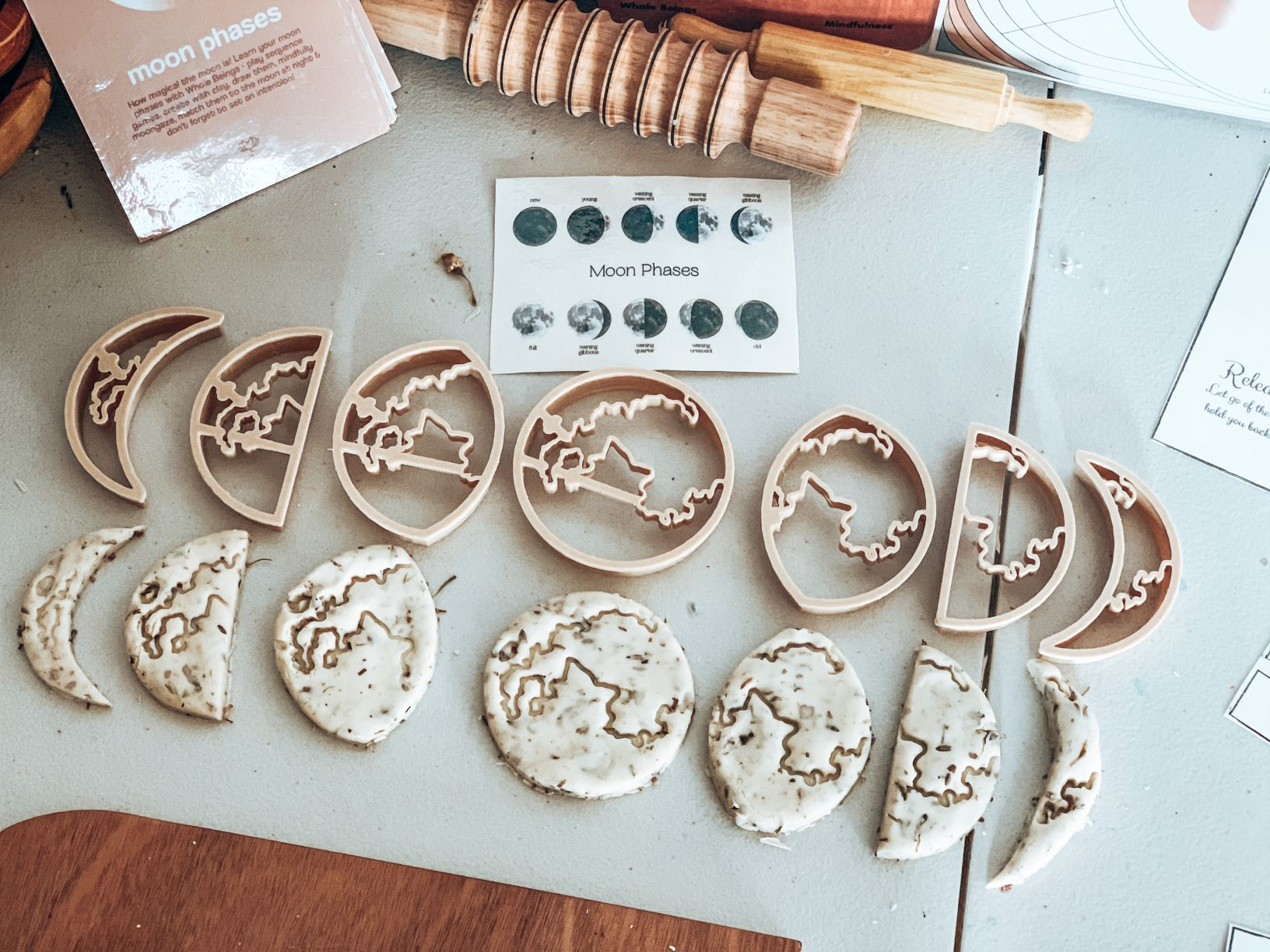 Birth of the Moon Eco Dough Cutters