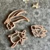 Bug and Leaves Eco PlayDough Cutter