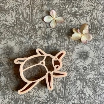 Bug and Leaves Eco PlayDough Cutter Little French Heart 2