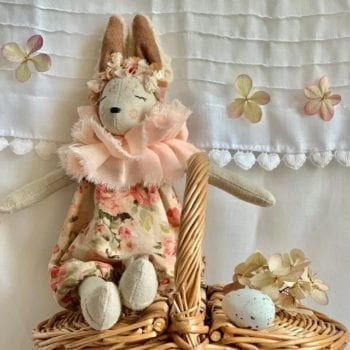 Bunny in Basket French Summer Romper
