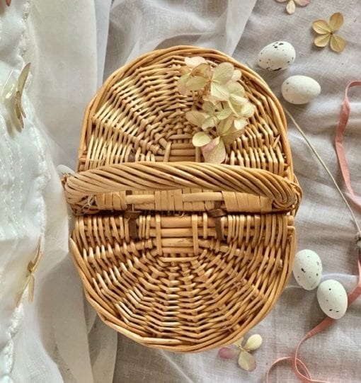 Easter Basket Little French Heart