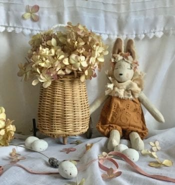 French Bunnette & Basket Cinnamon Set Mini