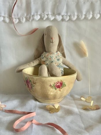 Maileg Bunny Size 2 Little French Heart