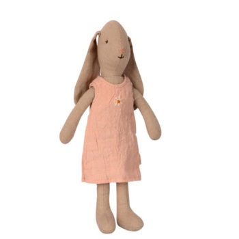 Maileg-Bunny-Size-1-Rose-Dress-Little-French-Heart
