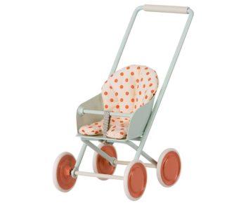 Maileg Stroller Micro Blue
