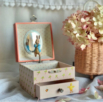Peter Rabbit Music Box Carrottes Little French Heart