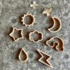 Sky and Weather Eco Cutter Set Little French Heart
