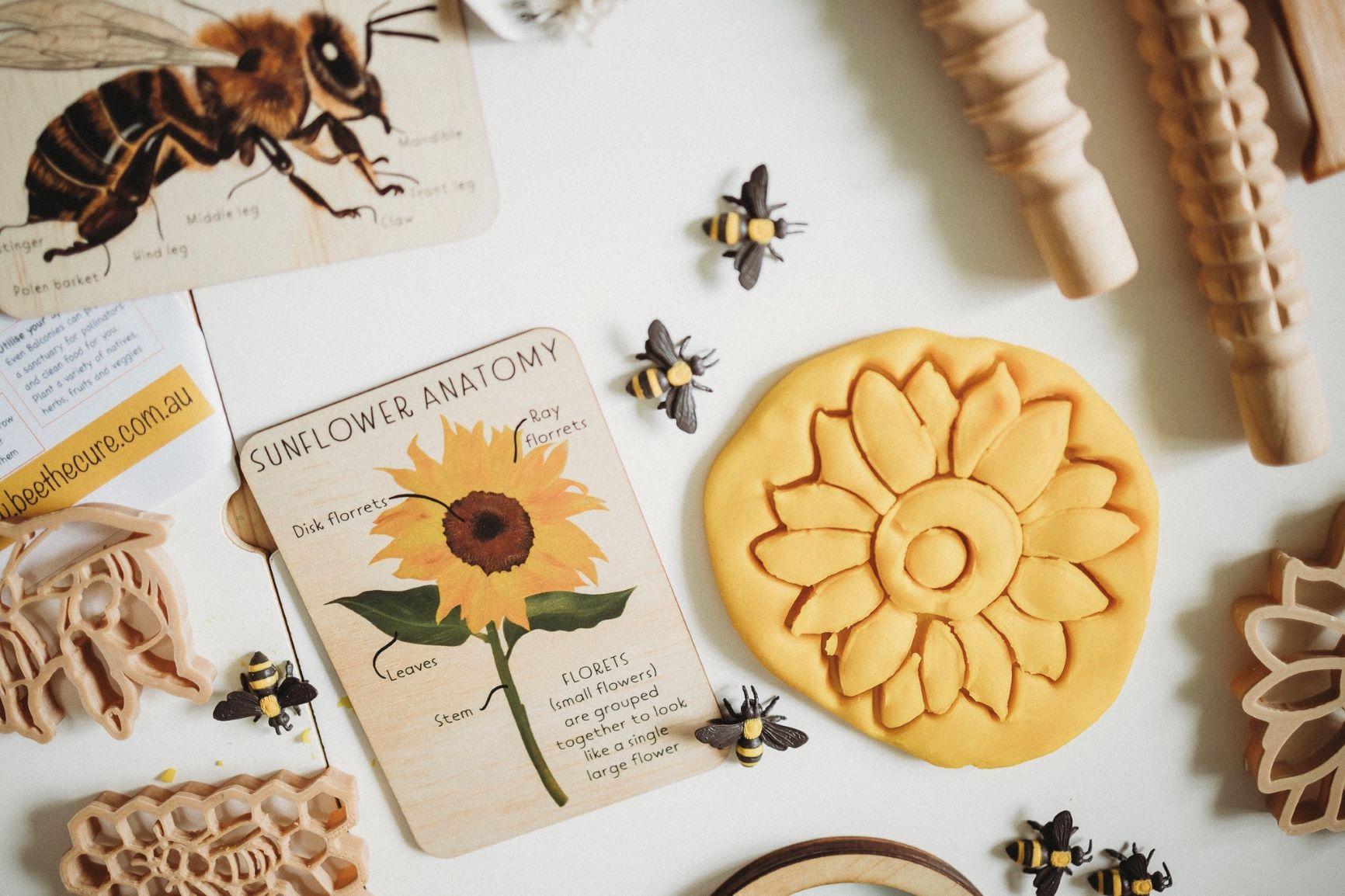 Sunflower Dough Cutter Kinfolk Little French Heart