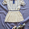 Knitted Tennis Dress Checked