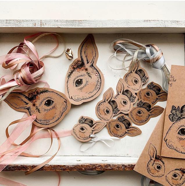 Easter Masks Little French Heart