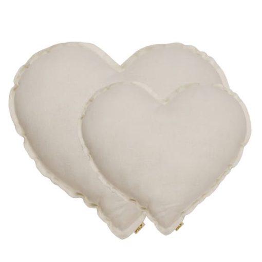 Numero 74 Heart Cushion Natural