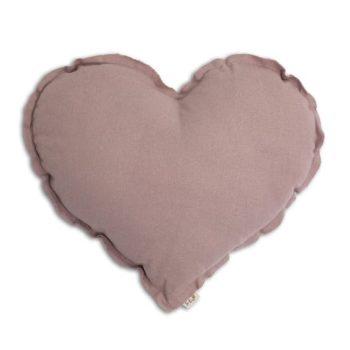 Numero 74 Heart Cushion Dusty Pink