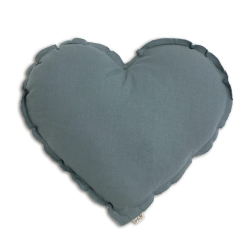 Numero 74 Heart Cushion Ice Blue