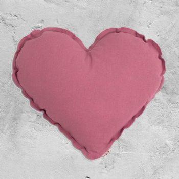Numero 74 Heart Cushion Baobab Rose