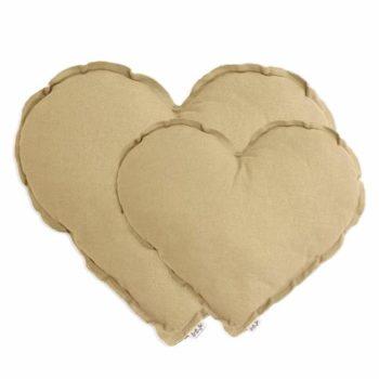Numero 74 Heart Cushion Mellow Yellow