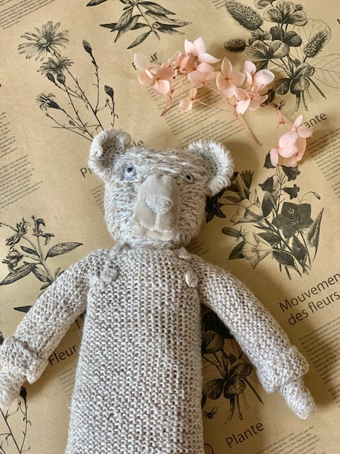 Sophie Digard Teddy In knit Sand Sweater