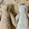 Sophie Digard Fuzzy Teddy Bear in Sand