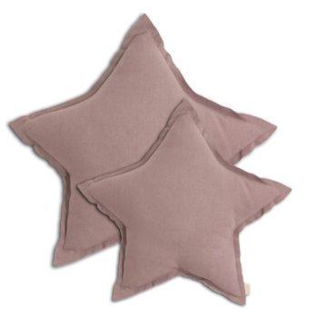Numero 74 Star Cushion Gold Dusty Pink