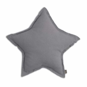 Numero 74 Star Cushion Silver Grey