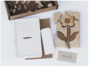 Wooden Mosaic Puzzle