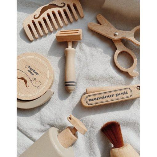 Kongesslojd Wooden Barbers Set