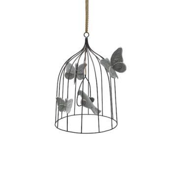 Numero 74 Bohemian Birdcage Silver Grey