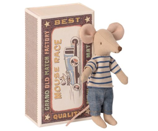 Big Brother Mouse in Box Little French Heart