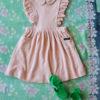 Bonjour Diary Apron Dress Pink Terry