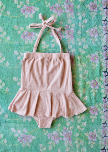 Bonjour Diary Dancer Swimsuit Pink Terry