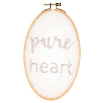 Numero 74 Hoop Kit Pure Heart