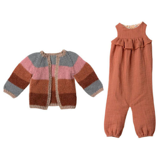 Maileg-Bunny-Size-5-Suit-&-Cardigan-Outfit