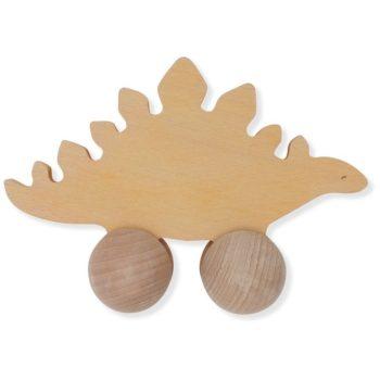 Kongesslojd Wooden Rolling Dinosaur