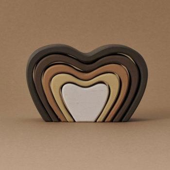 Raduga-Grez-Heart-Arch-Stacker Little French Heart