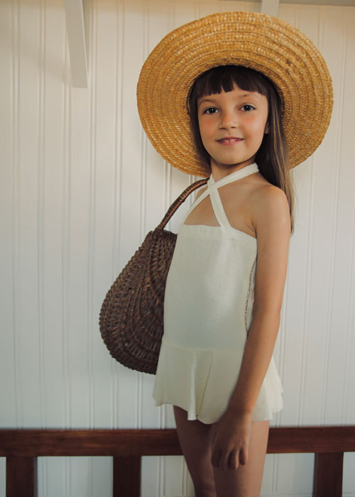 Bonjour Diary Dancer Swimsuit Ivory Terry