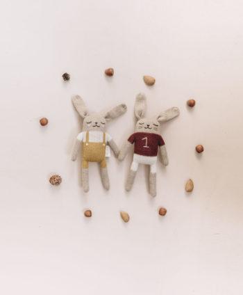 Main Sauvage Bunny Knit Toy Sienna Shirt
