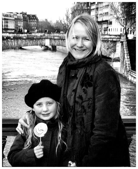 Eavan and I Spirited Mama, Paris 2010
