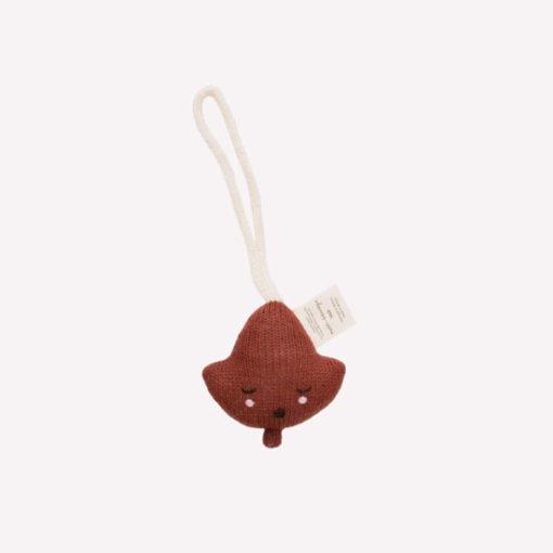 Main Sauvage Baby Gym Toy leaf Sienna