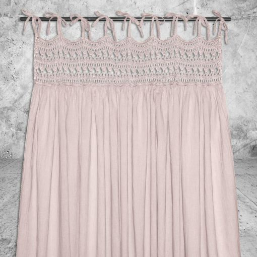 Numero 74 Tara Curtain Powder Little French Heart 2