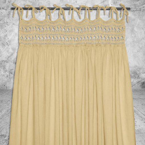 Numero 74 Tara Curtain Mellow Yellow 1