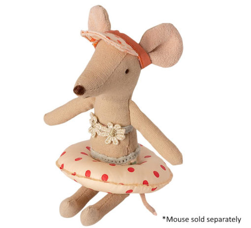 Maileg Floatie Small Mouse Red Dot