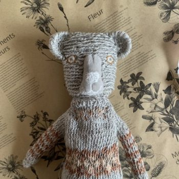 Sophie Digard Ted in Grey Multi Sweater