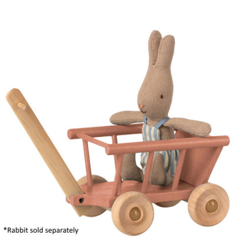 Maileg-Wagon-Dusty-Rose-with-Bunny