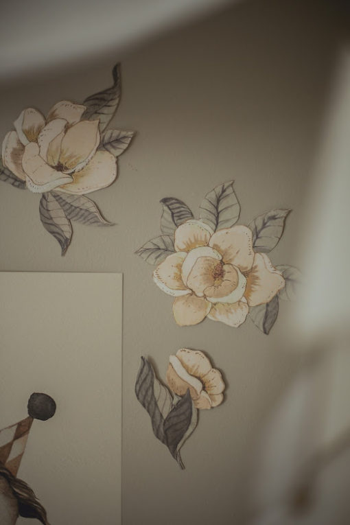 Anemone Flower Wall Stickers #Littlefrenchheart