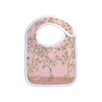 Atelier Choux In Bloom Bib Pink Little French Heart